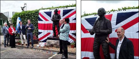 Unveiling Ceremony – Adrian Newey – Mallory Park